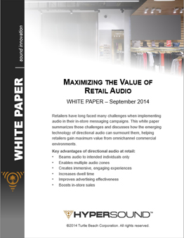 Maximizing the Value of Retail Audio White Paper
